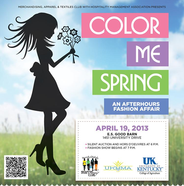 Color Me Spring Fashion Show Logo