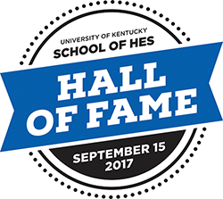 School of Human Environmental Sciences Hall of Fame Logo 2017