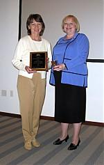 Carolyn Hofe was recognized as the 2008 Graduate Student of Distinction.