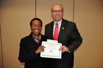 The Tri-State Diversity Conference has awarded the Individual Champion Award to Dr. Hazel Forsythe.