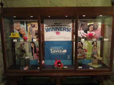 2012 Piggy Bank Contest Display