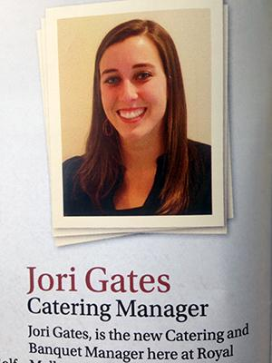 Internship Spotlight: Jori Gates, Hospitality Management and Tourism