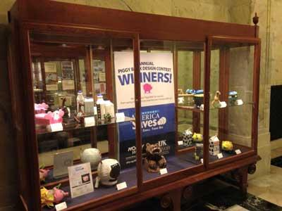 FCS Extension is celebrating Kentucky Save$ Week this week, February 23-28, 2015.  Winners of the youth piggy bank design contest will be recognized today at the Kentucky Capitol