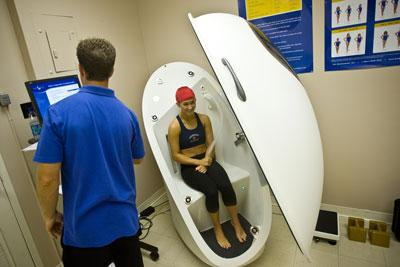 Prepping the Bod Pod