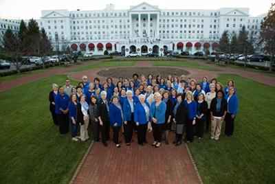 National Extension Association of Family and Consumer Sciences (NEAFCS)  Delegation at the Greenbrier