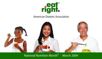 Eat Right, America Logo