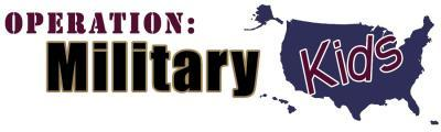 Operation Military Kids Header Logo