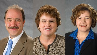 Patricia Brantley Todd Awards of Excellence went to Alexander Vazsonyi, Debra Cotterill and Christy Nuetzman.