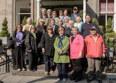 2013 Scotland study tour group