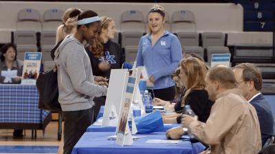 UK student athletes participate in life reality exercise