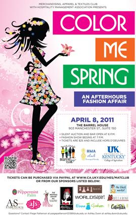 Color Me Spring - An Afterhours Fashion Affair Poster