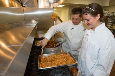 Chef Bob teaching