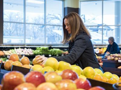 """Alison Gustafson considers grocery stores her """"labs""""."""