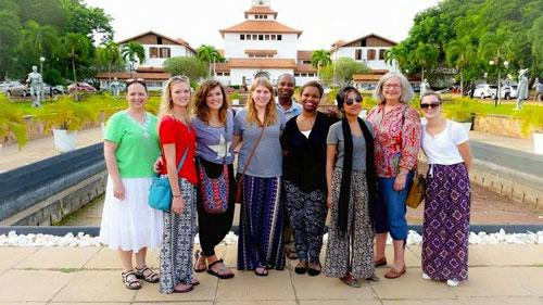 2015 Ghana Tour travelers