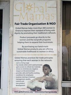 Global Mama's Sign