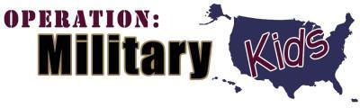 Operation Military Kids Header Logo