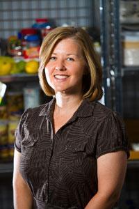 Dr. Kelly Webber, Associate Professor, Department of Dietetics and Human Nutrition.