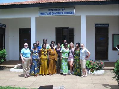 Ghana visitors