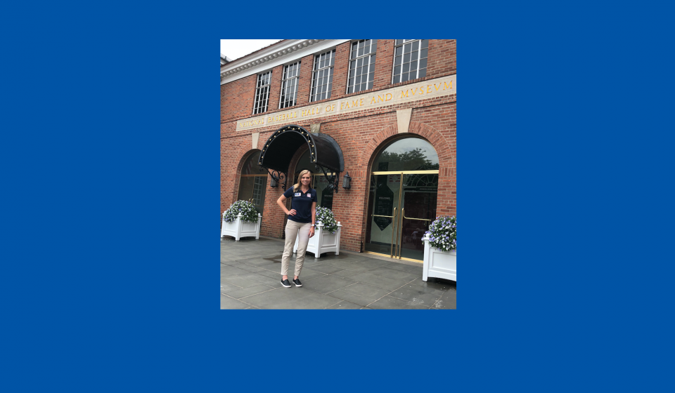 Baseball Hall of Fame Welcomes 2018 Class of Frank and Peggy Steele Interns to Cooperstown