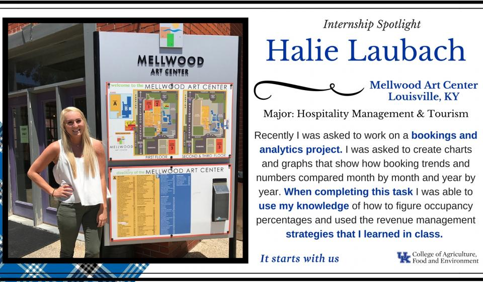 Internship Spotlight: Halie Laubach