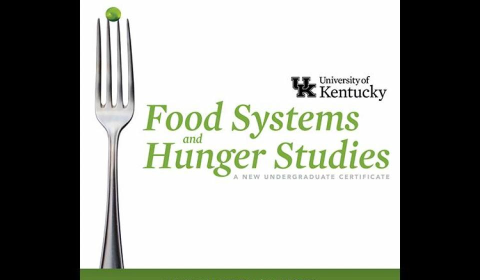 UK to offer certificate in food systems and hunger studies