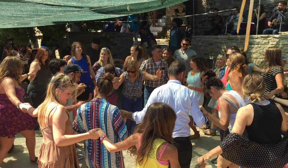 "HMT Students Experience ""Transformative Travel"" in Greece"