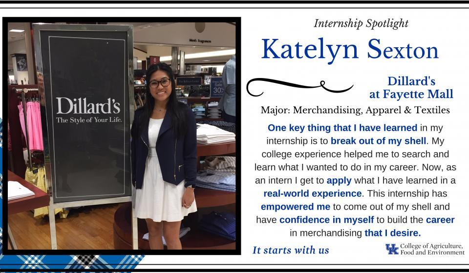 Internship Spotlight: Katelyn Sexton