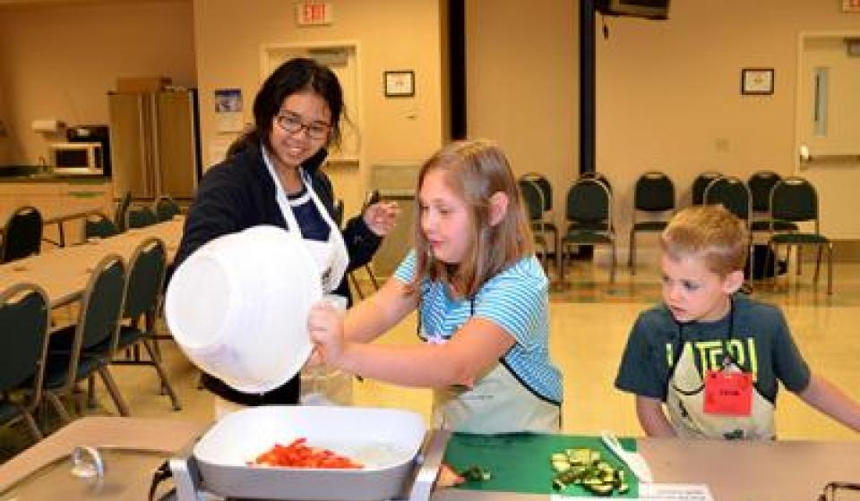UK extension serves up successful cooking program
