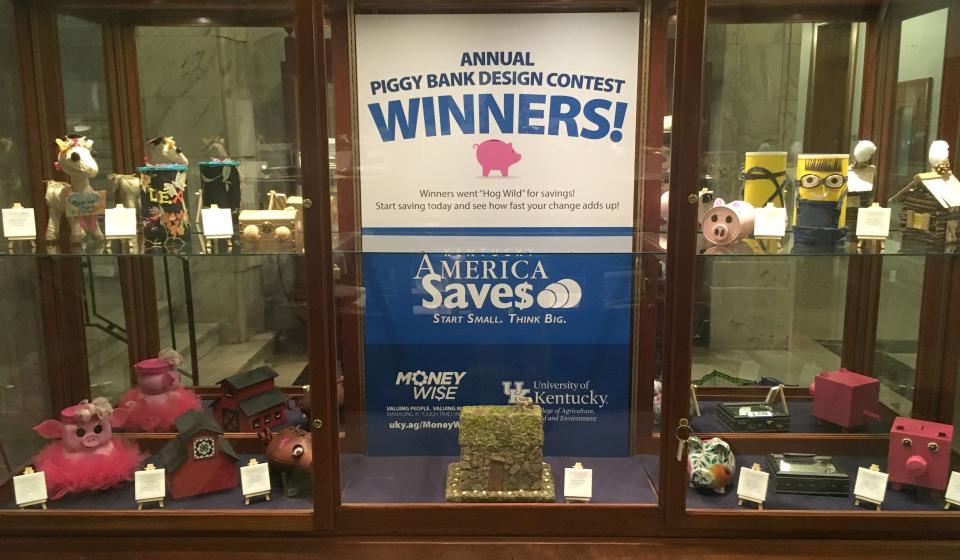 Kentucky Save$ Week Piggy Bank Contest Winners
