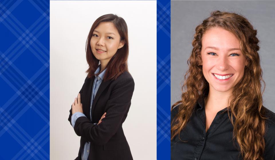 Goderwis, Zhang Receive Killpatrick Fellowship