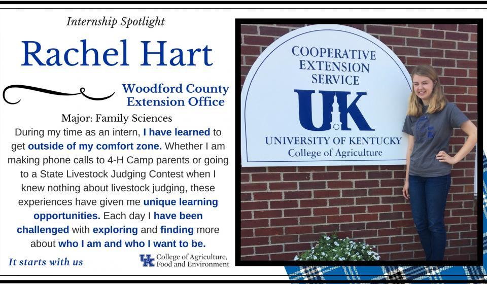 Internship Spotlight: Rachel Hart