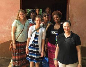2015 Ghana Tour Students and Facutly