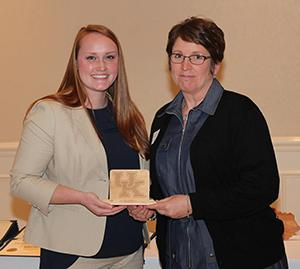 Lynnette Allen, recipient of the Mid-Career Service Award