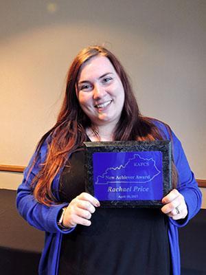 New Achiever Award: Rachael Price