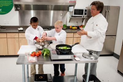 New cooking series for young students
