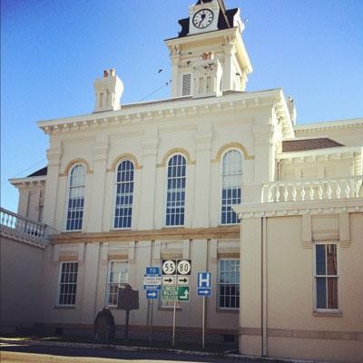 Historic Adair County Courthouse in Columbia, Kentucky