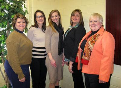 Cherry Kay Smith, Sherri Sullivan Broderick, Lora Pullin, Andrea Johnson and Ann Vail