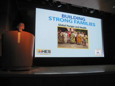 Dr. Mullins Presenting