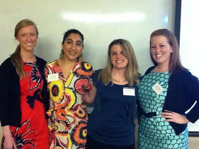 Mary Graham, Farah Delshad, Susannah Treese and Amanda Caldwell.