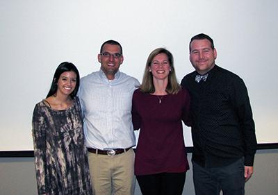 Alyssa Campbell, David Weisenhorn, Amanda Westmoreland and Brodie Clark