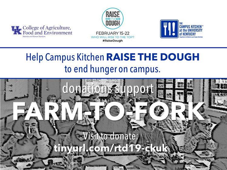 Campus Kitchen Competes to 'Raise the Dough' and Fight Hunger