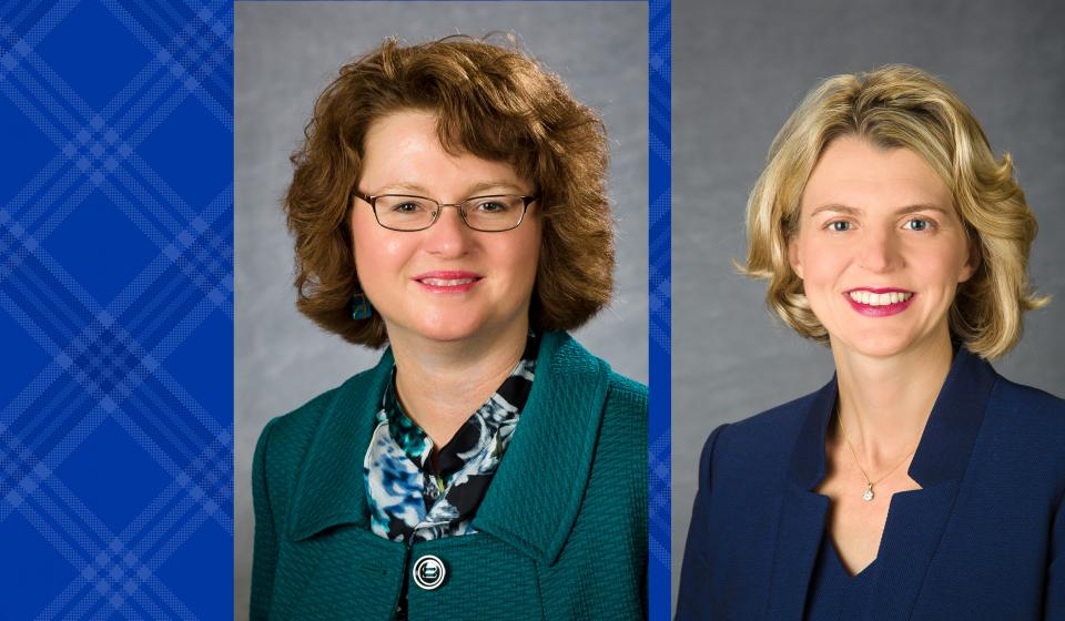 Henken, Hunter Appointed to Administrative Roles
