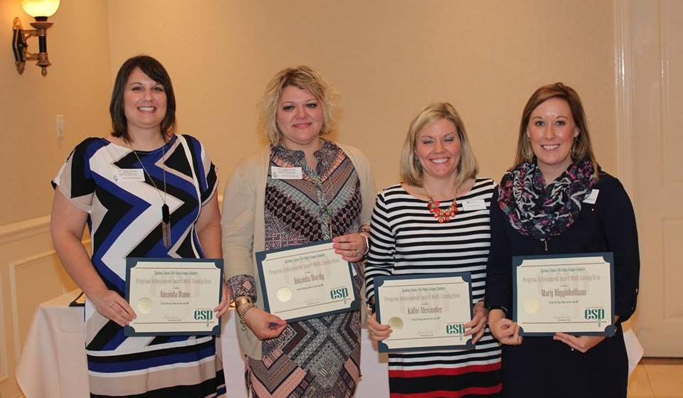 Recipients of the Program Achievement